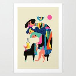 The Pianists Art Print