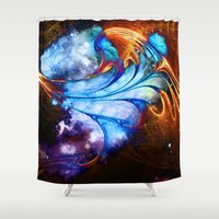 smoking Shower Curtains featuring Smoking space. by haroulita