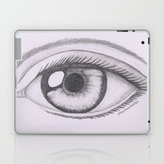 Keep your eyes open and see.... Laptop & iPad Skin