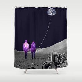 Moonwalk Shower Curtain
