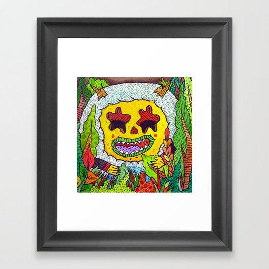 Wild Eyes Framed Art Print