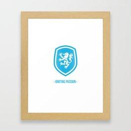 Elf - Igniting Passion (Blue) Framed Art Print
