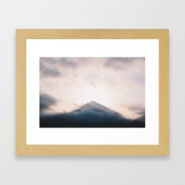 Puig Campana Framed Art Print