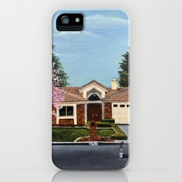 A Very, Very Fine House--With One Cat in the Street? iPhone Case