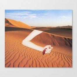 La Llamada del Desierto Canvas Print