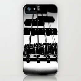 Bass Lines iPhone Case