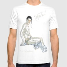 Departed Mens Fitted Tee White MEDIUM