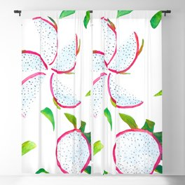 Dragon fruit Blackout Curtain