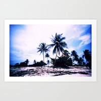 cuba Art Prints featuring Cuba by very giorgious