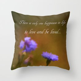 Love And Be Loved Throw Pillow