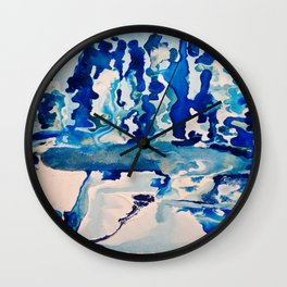 Our Ice Is Melting Wall Clock