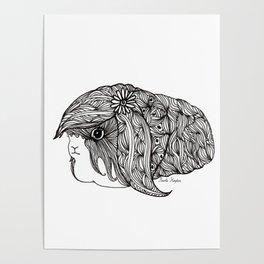 BEAUTIFUL GUINEA PIG Poster