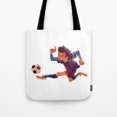 Lionel Messi, Barcelona Jersey Tote Bag