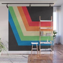 Vintage lines pattern Wall Mural