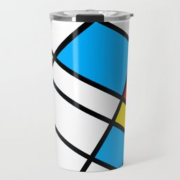 Related Colored Lines Travel Mug