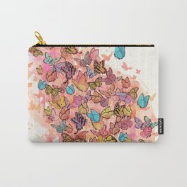 catching butterflies Carry-All Pouch