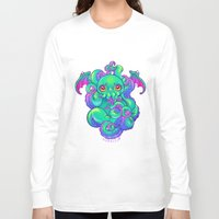 cthulhu Long Sleeve T-shirts featuring Cthulhu by Gunkiss