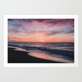 Amazing sunrise Art Print