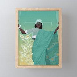 Call Me Pretty Framed Mini Art Print
