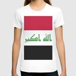 Iraq flag emblem T-shirt
