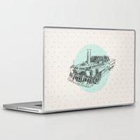steam punk Laptop & iPad Skins featuring Steam punk by grop