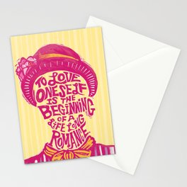 Love Oneself for a Lifelong Romance Stationery Cards