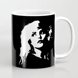Blondie, Music Legend, Black, White, Cinema, Art, Author, Song Writer, Musician, Punk, Coffee Mug