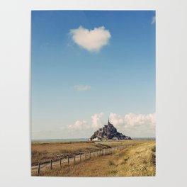 Mont Saint-Michel, France Poster