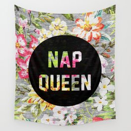 Nap Queen Wall Tapestry