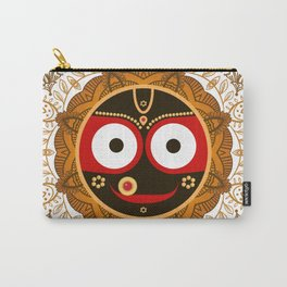 Jagannath. Indian God of the Universe. Lord Jagannatha. Carry-All Pouch