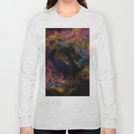 Abstract Nebula K3 Long Sleeve T-shirt