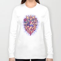 sailormoon Long Sleeve T-shirts featuring In the Name of the Moon by Megan Lara
