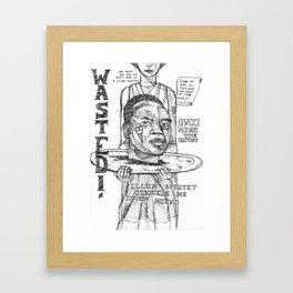 GucciMane Framed Art Print