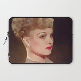 Joan Bennett, Hollywood Legend Laptop Sleeve