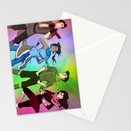 Scarves for Team Avatar Initiative Stationery Cards