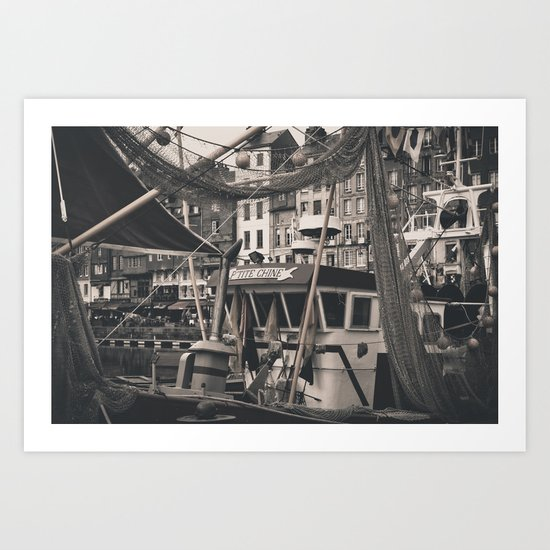 Harbor Le Havre France Art Print