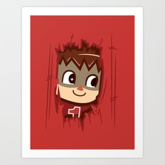 Heeeeere's..... the Villager! Art Print