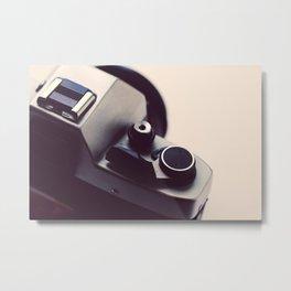 Analog Camera Metal Print