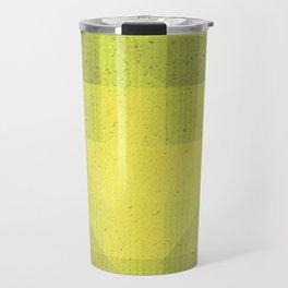 Kryptonite green poly pattern Travel Mug