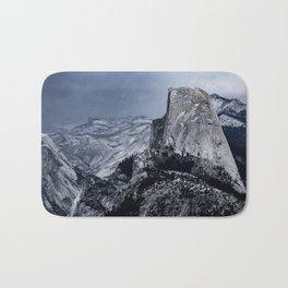Half Dome in Yosemite National Park Bath Mat