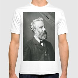 portrait of Jules Verne by Nadar T-shirt