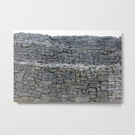 Dry stone wall Metal Print