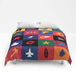 Minimalist Hockey Comforters