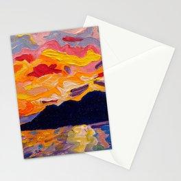 West Coast Sunset Stationery Cards