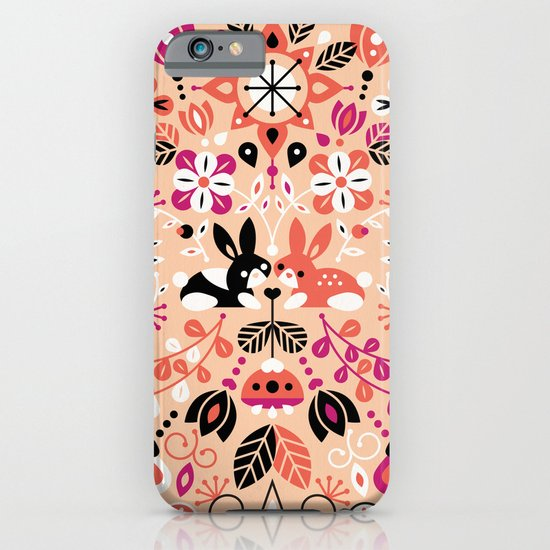 Bunny Lovers iPhone & iPod Case