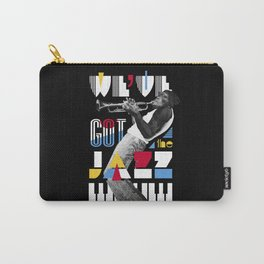 Jazz Monkey Carry-All Pouch