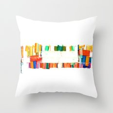 colors.2 Throw Pillow