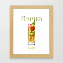 Taste Summer Framed Art Print