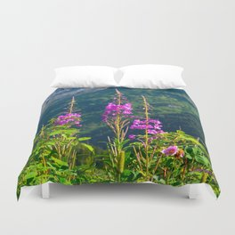 Fireweed ~ Mid-Summer Duvet Cover
