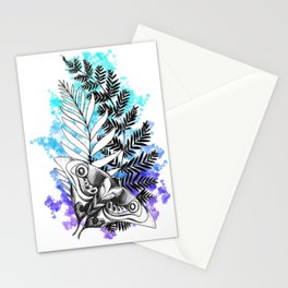 The Last Of Us Tattoo Color Splash Stationery Cards